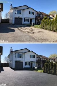 driveway-Black-PittMeadows-April232018-b4andafter