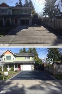 driveway-MetalCharcoal-MapleRidge-April192018-b4andafter
