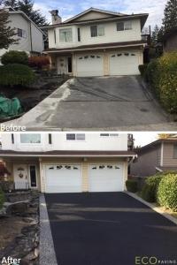 driveway-MetalEcoBlack-Coquitlam-October182018-b4andafter