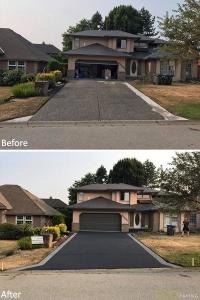 driveway-charcoal&greyborders-Surrey-aug102017-b4andafter