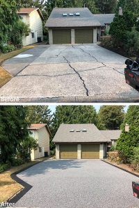 driveway-NewMetalandBlack-Langley-Aug102018-b4andafter