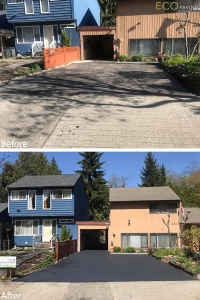 driveway-fusionmetalcharcoal-Burnaby-April232018-b4andafter