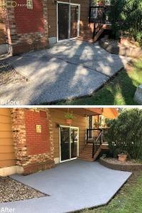 patio-GraphiteMidGrey-MapleRidge-April272018-b4andafter