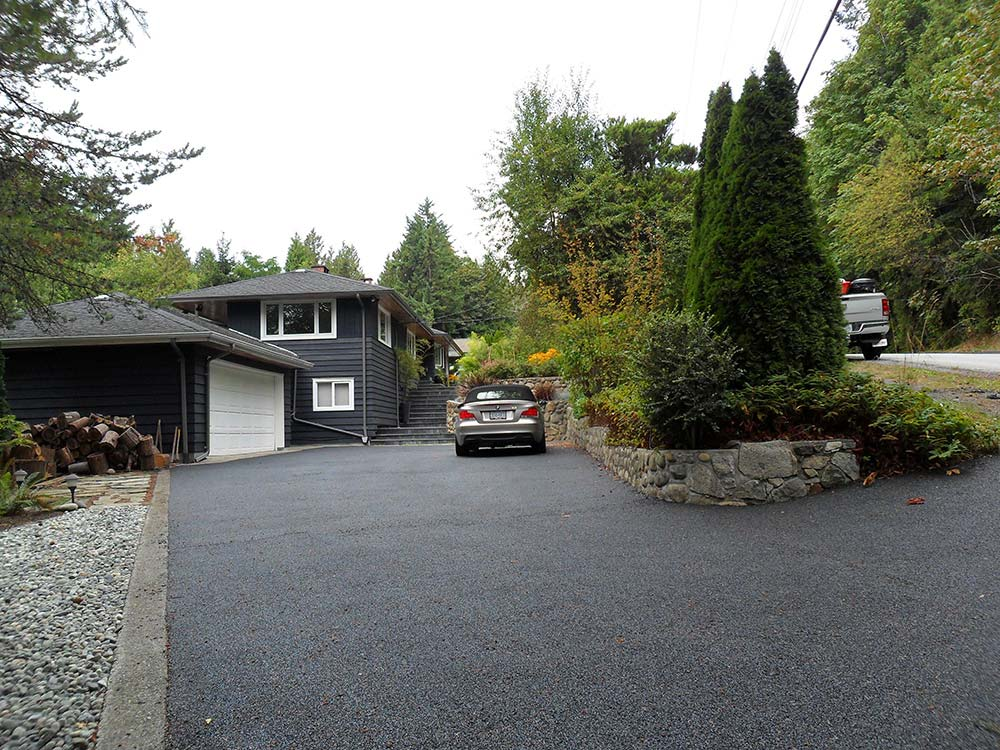 driveway resurfacing over a concrete driveway in Vancouver