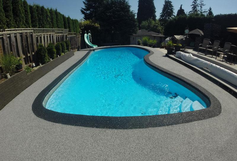 Vancouver pool deck paving projects pool deck resurfacing for Pool resurfacing