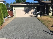 driveway paving companies use eco friendly rubber in Burnaby