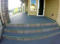rubber paving can do rubber patio deck paving ideas