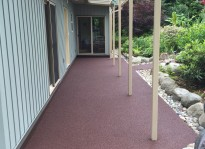 rubber patio deck ideas in Vancouver