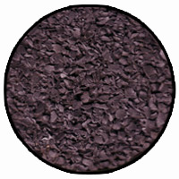 charcoal colour rubber mulch