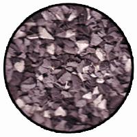 grey metal colour rubber mulch