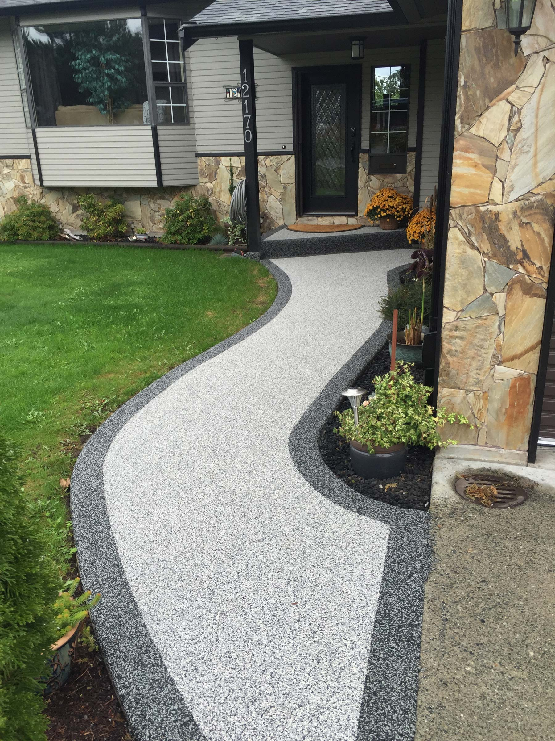 BC rubber paving company offers rubber driveway paving, rubber flooring, and driveway resurfacing