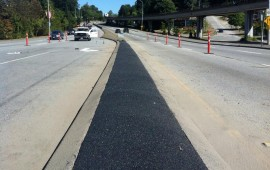 meridian resurfacing with rubber paving Vancouver