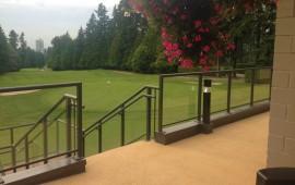 rubber flooring and rubber paving for veranda deck