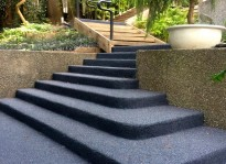 rubber stairways Burnaby Vancouver