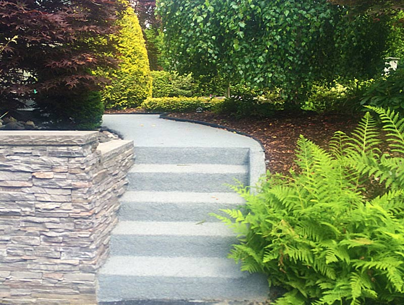 rubber strata stairway in Coquitlam