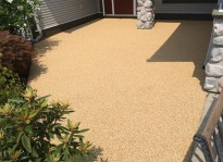 deck resurfacing with rubber flooring Coquitlam