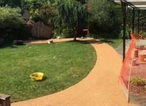 rubber flooring outdoor walkway Burnaby